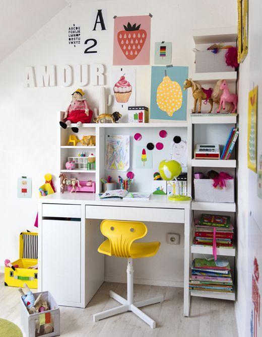 Zona de estudio Ikea : ¿Necesitas inspiración para montar tu zona de estudio Ikea? Hoy traemos muchas ideas. Fotos de zonas de estudio para niños y jóvenes montadas con los muebl