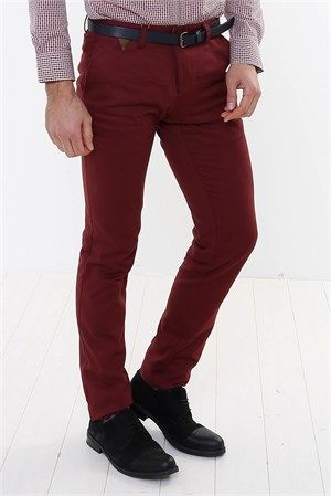 WSS Wessi Kendinden Desenli Pamuk Pantolon