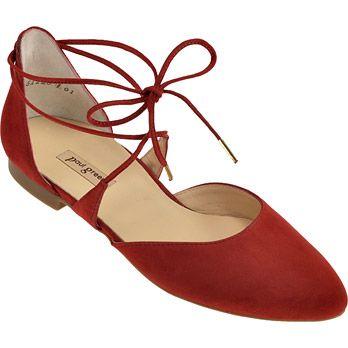 Paul Green 3399-029 Egal, zu welcher Gelegenheit, diese atemberaubende flache Sandale passt! Diese Sommer Sandale ist aus weichem Wildleder in einem aufregenden Rotton. Mit der feinen Schnürung passt sich der Schuh optimal an Ihren Fuß an. Der Schuh ist mit Leder ausgekleidet und hat eine Gummisohle, die für optimalen Komfort sorgt.