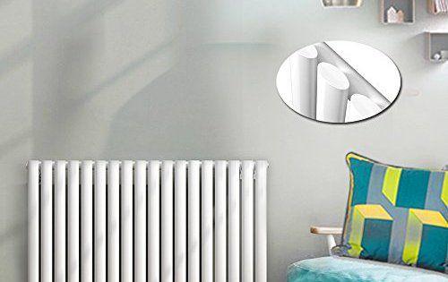 Anaelle Pandamoto Radiateur Vertical Design Vitality Blanc en Acier haut de gamme 600*1052mm Chauffage Central Chaude: Super facile à…
