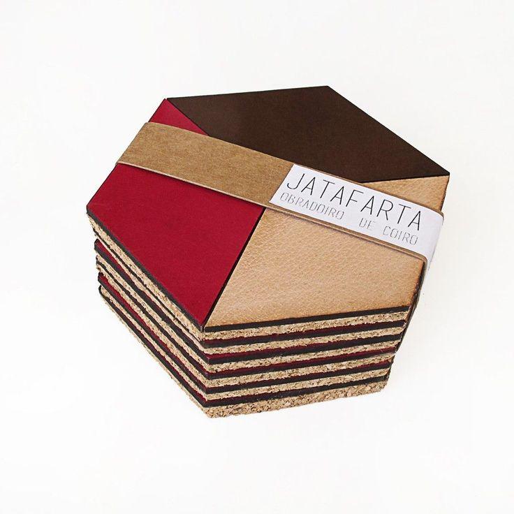 Packaging posavasos de cuero | JATAFARTA | CoolMaison
