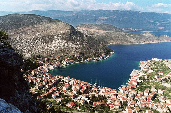 Harbor, Kastelorizo, Greece