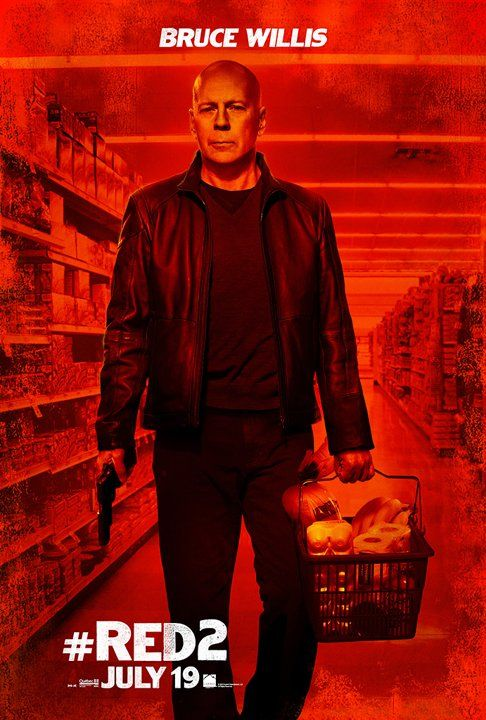 New Posters For 'Red 2′