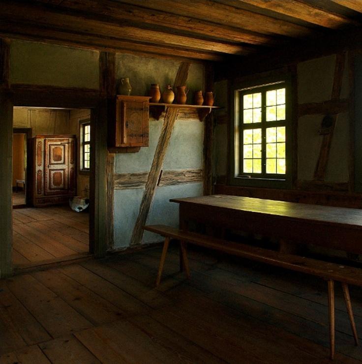 Perhaps A Bit Bare But Very Atmospheric Primitive AntiquesPrimitive CountryFarmhouse InteriorTable