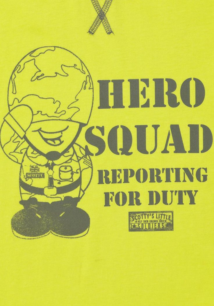 Clothing at Tesco | Scotty's Little Soldiers Hero Squad T-Shirt > tops > Scotty's Little Soldiers > All Brands
