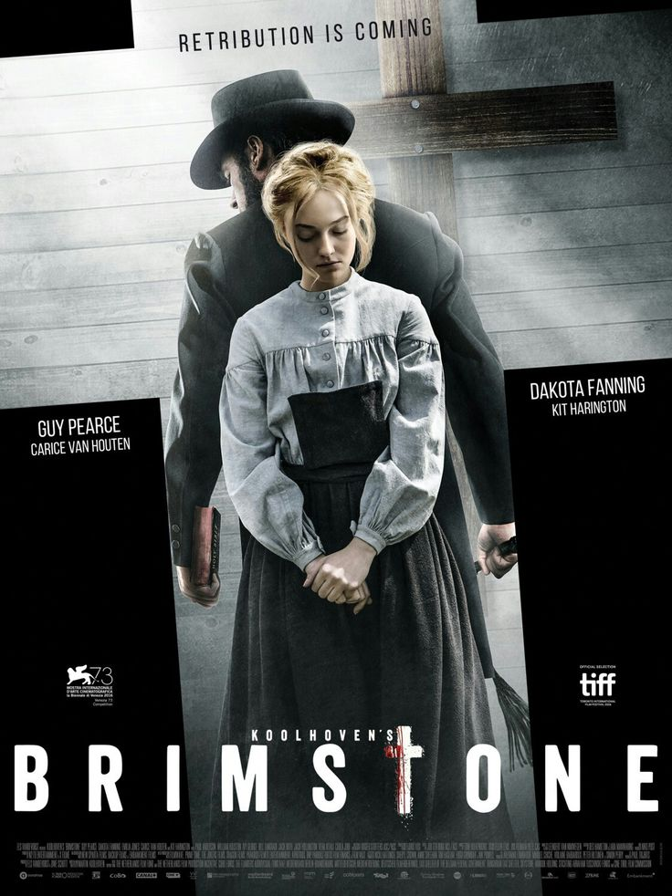 Brimstone. So proud of our (Dutch) Martin Koolhoven. He wrote and produced this movie. One of the best movies ever seen!! #brimstone