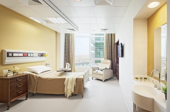 Hospital Patient Rooms
