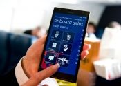 DELTA Flight Attendants to use Nokia Lumia 1520 phablets for in-flight customer service.  The 6-inch phablet will replace the smaller Lumia 820 already in the hands of Delta on-board flight attendants, and will serve as their on-board manual and point of sales device.