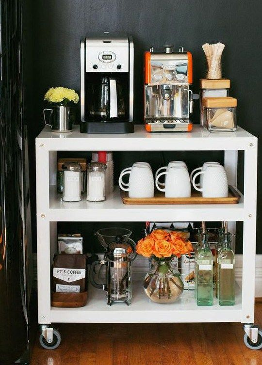 266 best Home Coffee Bars images on Pinterest