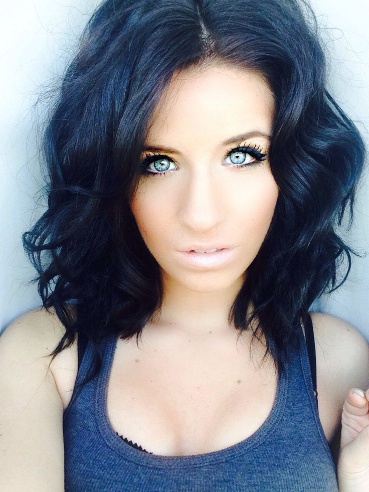 Admirable 1000 Images About Jet Black Hair On Pinterest Black Hair Long Hairstyles For Women Draintrainus