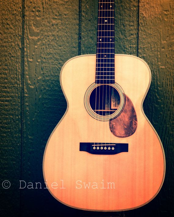 Acoustic Guitar Photography, Martin Guitar, Wall Art, Fine ...