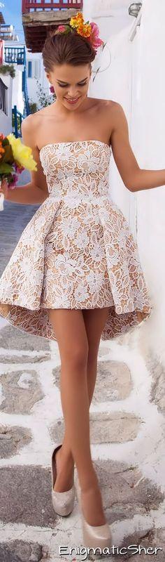 vestido cola de pato