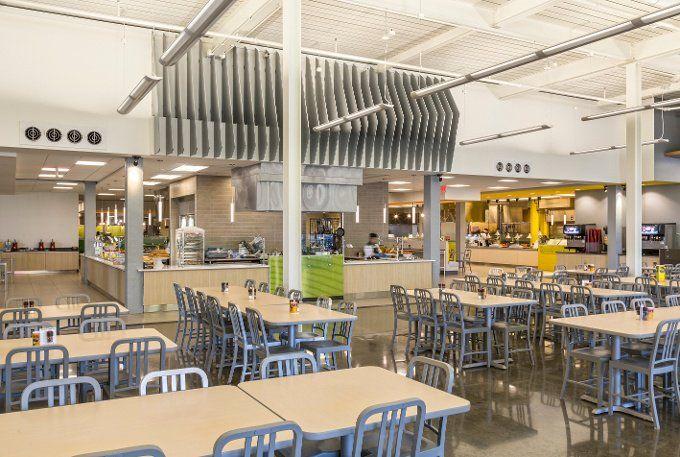 Higher Ed Design Trends A Chat With Fabie Derbigny Of Tipton Associates University Interior Design Arizona Interior Design Cafeteria Design