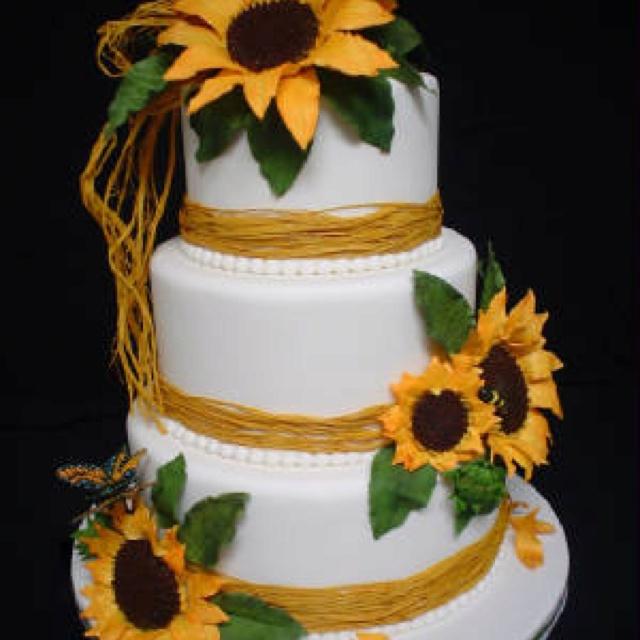 12 best Sunflower Cakes images on Pinterest Sunflower cakes