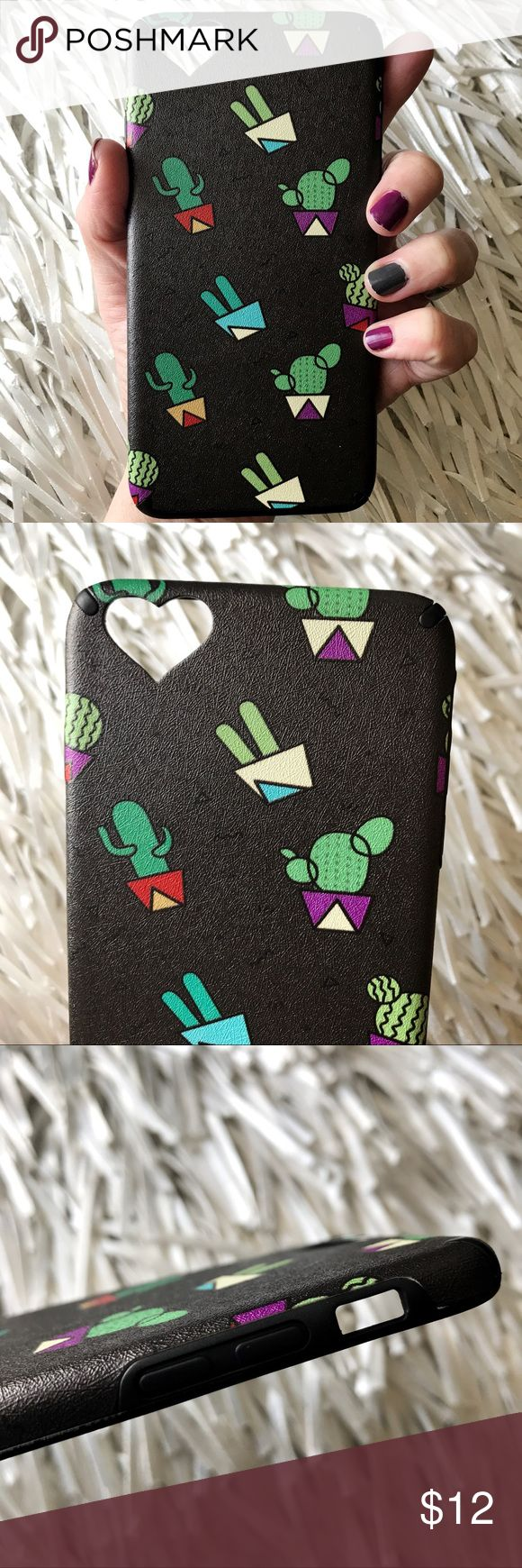 NEW iPhone 6/6s Plus SOFT TPU Cactus 🌵Case Cover ▪️Fits iPhone 6 & 6s Plus Models   ▪️Soft Thick Shock-resistant TPU  ▪️Same or Next Business Day Shipping , Check My Stats! Accessories Phone Cases