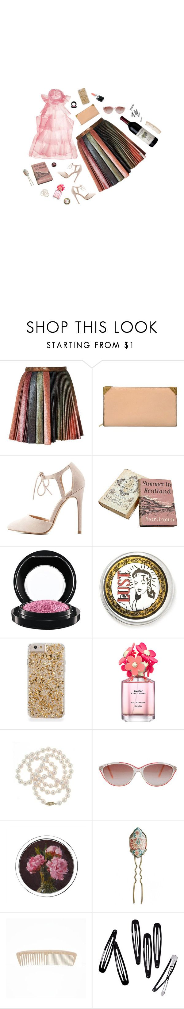 """""""Pinnacle"""" by jetra13 ❤ liked on Polyvore featuring Marco de Vincenzo, Alexander Wang, Charlotte Russe, MAC Cosmetics, Marc Jacobs, DaVonna, Yves Saint Laurent, L. Erickson and H&M"""
