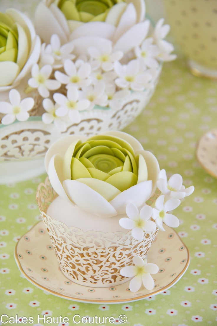 lime green cupcake couture