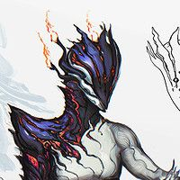 Custom skin design, commissioned by Digital Extreme for Warframe.   Influenced by the art of Jorge Benedito.
