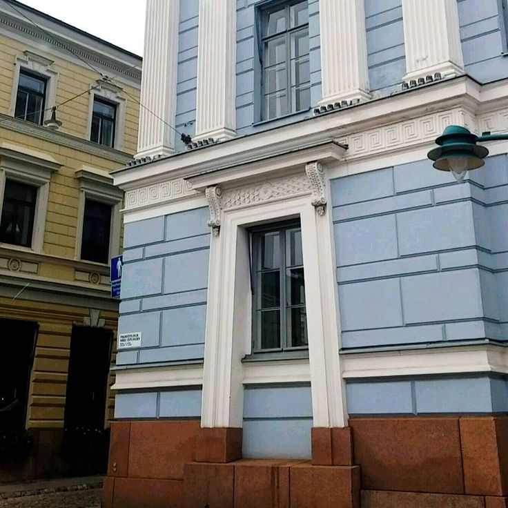 #finland#helsinki#house#building##architecture#desing#old#volors#colours#blue#white#yellow#black#grey#helsingfors#north#europe#nordic#denmark#norway#iceland#denmark#city#travel#world#traveltheworld#photo http://tipsrazzi.com/ipost/1509403833963441102/?code=BTyesoyAOvO