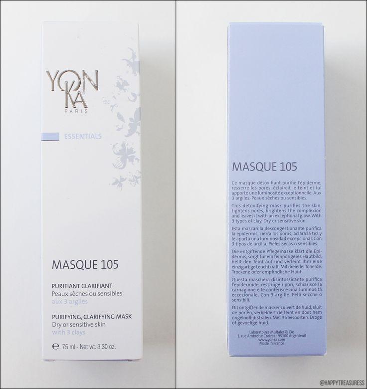 Testbericht über die Yon-Ka Masque 105 - Klärende Gesichtsmaske mit dreierlei Tonerde