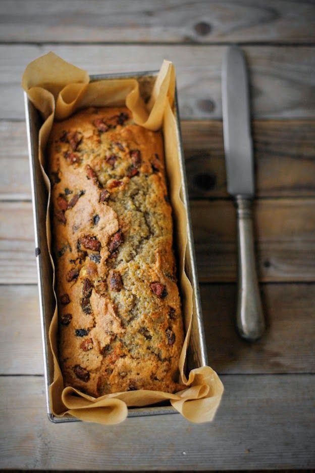 Plumcake con farina integrale e goji berries, by Vanigliacooking