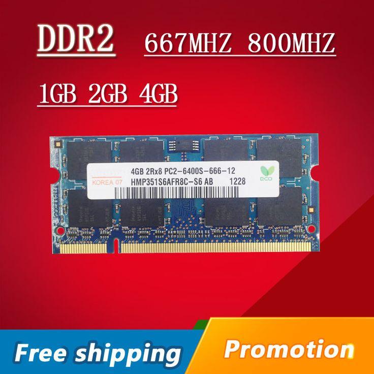 Hynix 1 gb 2 gb 4 gb DDR2 667 800 667 mhz 800 mhz PC2-5300 PC2-6400 1g 2g sodimm so dimm sdram Speicher Ram Memoria Für Laptop Notebook