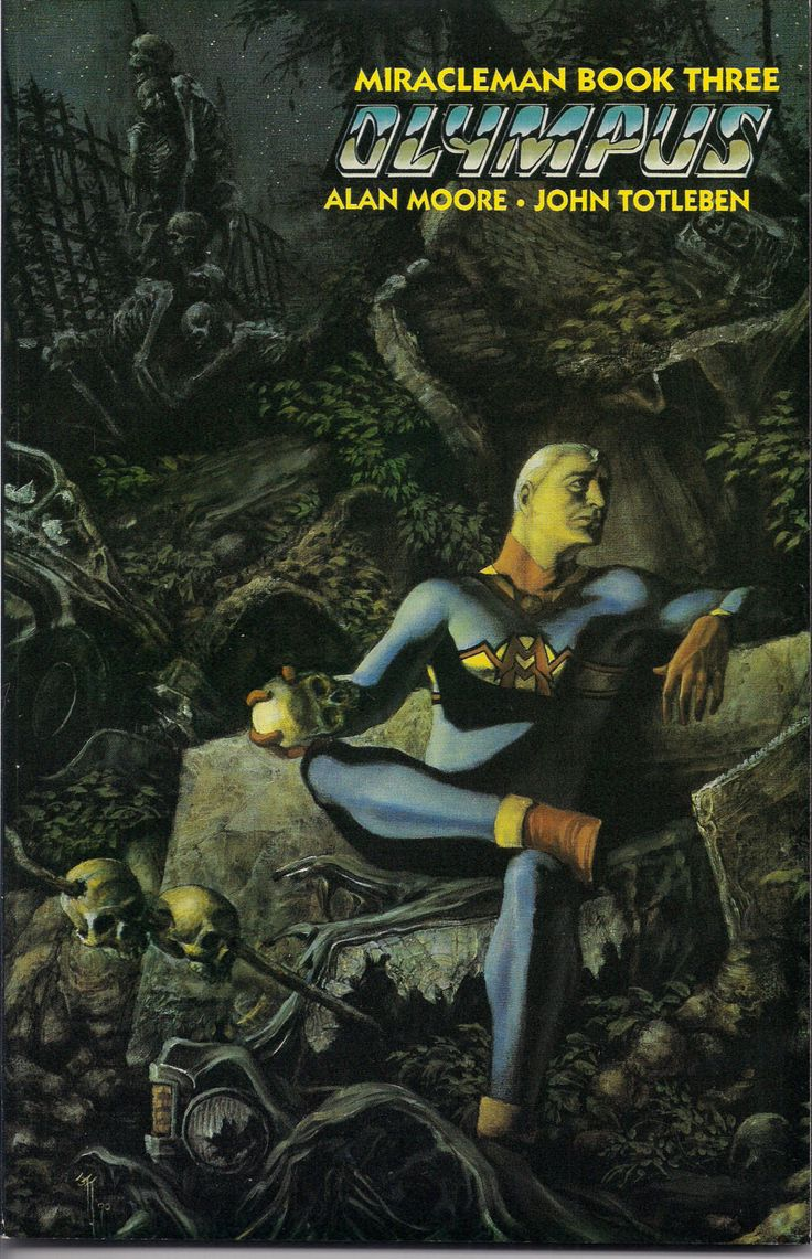 MIRACLEMAN, Book Three: Olympus,Paperback,Collection,Alan Moore, John Totleben, Rick Veitch, Thomas Yeates, John Ridgway, RARE