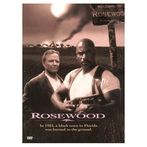 Great movie! Rosewood (1997) Ving Rhames and Don Cheadle headline this  retelling of the Rosewood massacres, a 1923 incident in which a white mob used a white woman's false rape allegations as the motivation to destroy a peaceful, predominately black town. Jon Voight, Bruce McGill and Michael Rooker also star in this poignant historical drama from Academy Award nominee John Singleton...2a