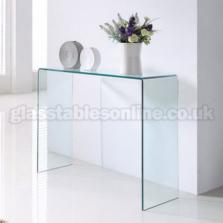 modern glass console table toronto tables hallway with drawers and shelves
