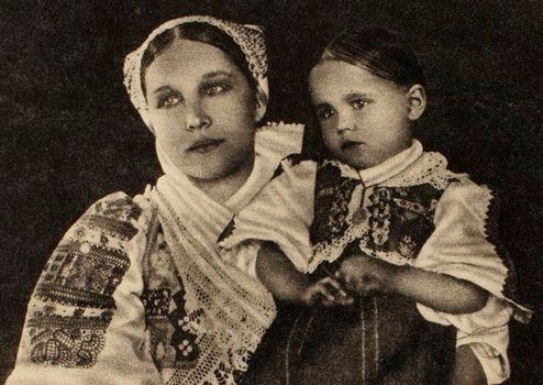 Mamička s dcérkou