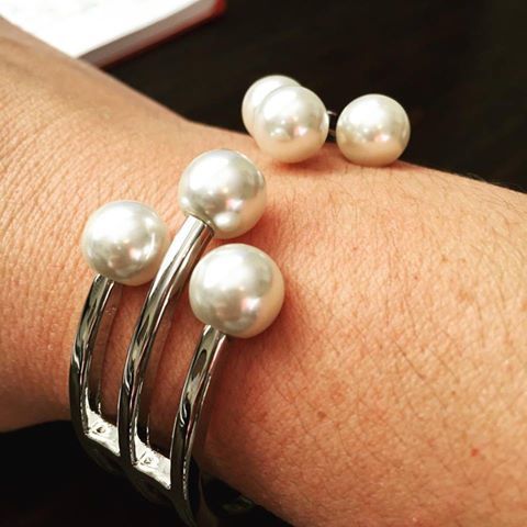 Lita Pearl Tip #bracelet