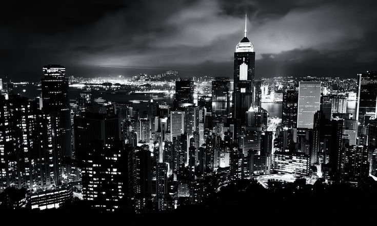 Black-and-White-City-at-Night-V.png (PNG kép, 1600 × 960 képpont) - Átméretezett (80%)