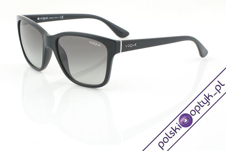 Okulary przeciwsłoneczne damskie Vogue VO 2896S W44/11 #okulary #glasses #eyewear #eyeglasses #oprawki #vogue