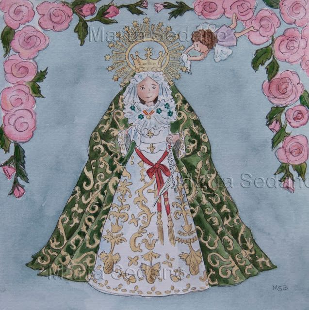 Esperanza Macarena ilustrated by Marta Sedano