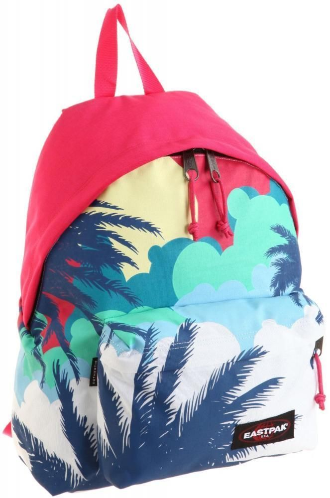 Eastpak padded pakr hawaiian punch molokini rose