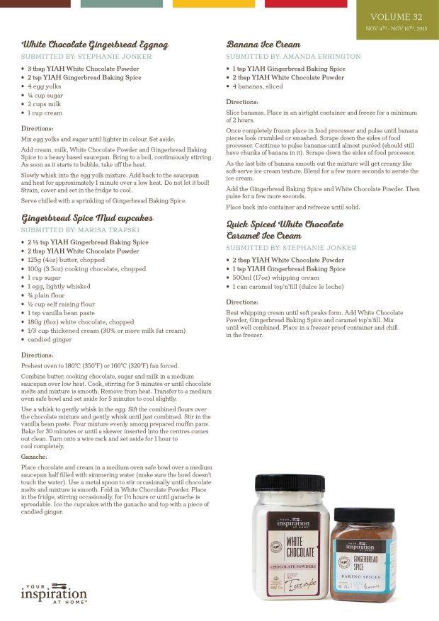 YIAH Pairing wk 32 recipe 2