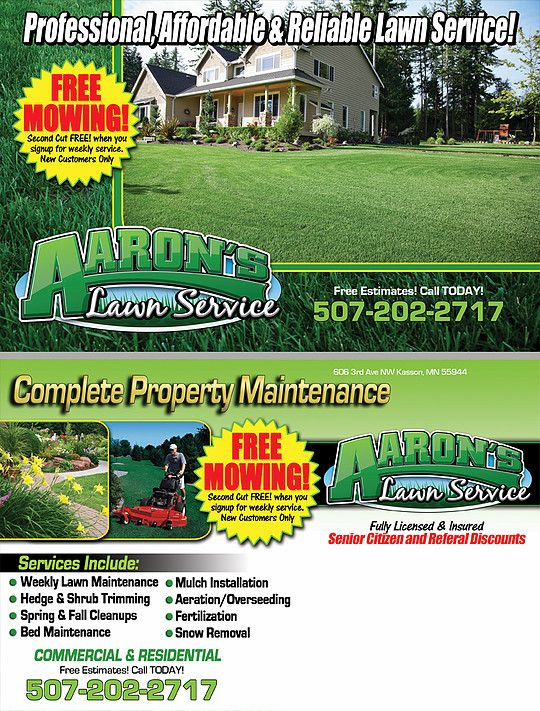 11 best images about postcards for your lawn care and for Lawn treatment companies
