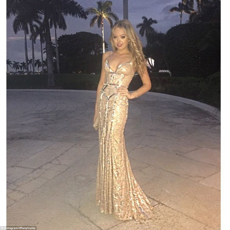 11/8/14   Family affair: Tiffany Tump, Eric's half-sister and Donald's daughter with ex Marla Maples, was also at the ceremony