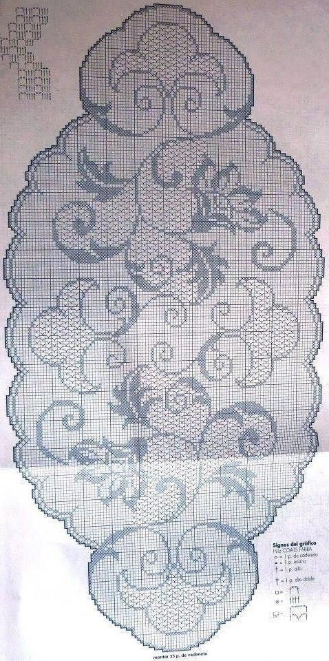 Very nice oval tablecloth with flowers