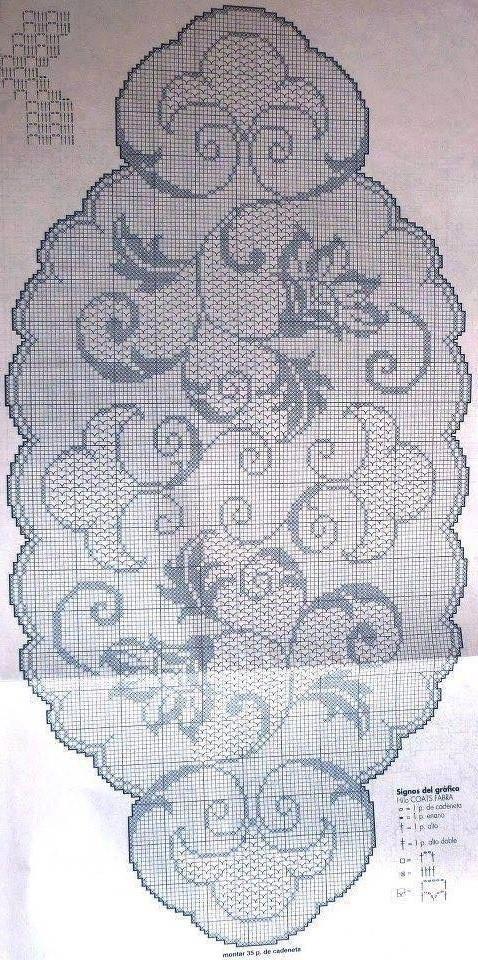 Kira scheme crochet: Scheme crochet no. 1556
