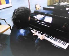 """feast-of-friends: """"Jim Morrison messes around on piano during the filming of The Doors' movie, 'Feast of Friends'. """""""