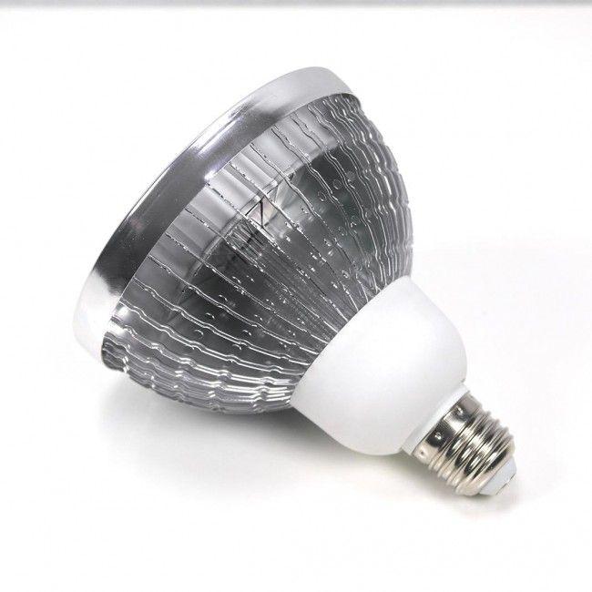 Lampen en Peertjes - Parus Plant Light Growlight Bulb in Lampshade #ParusPlantLight #Growlight #GroeiLicht #Kweeklamp