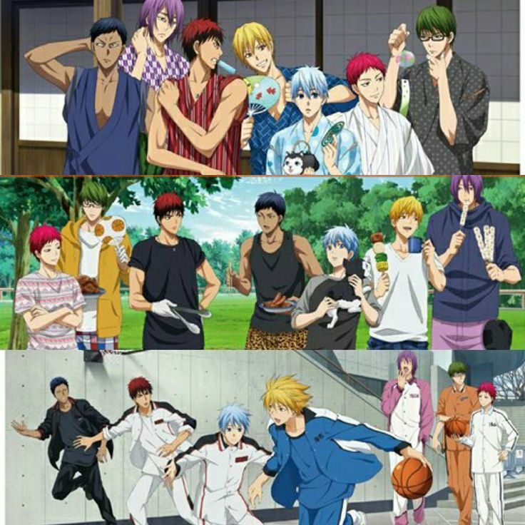 Upcoming goods of knb!!! It's a campaign for a product ION? There's clearfile but I'm sorry I don't really know what is it xD. You can check out the site if you want : http://tv.kurobas.com/goods/2016/06/entry_2559/ . . . I'm jealous all three arts have midoaka looking at each other xD lol . .