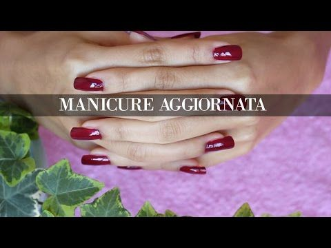 MANICURE UNGHIE PERFETTE Naturali Lunghe & Sane | AGGIORNATA - YouTube