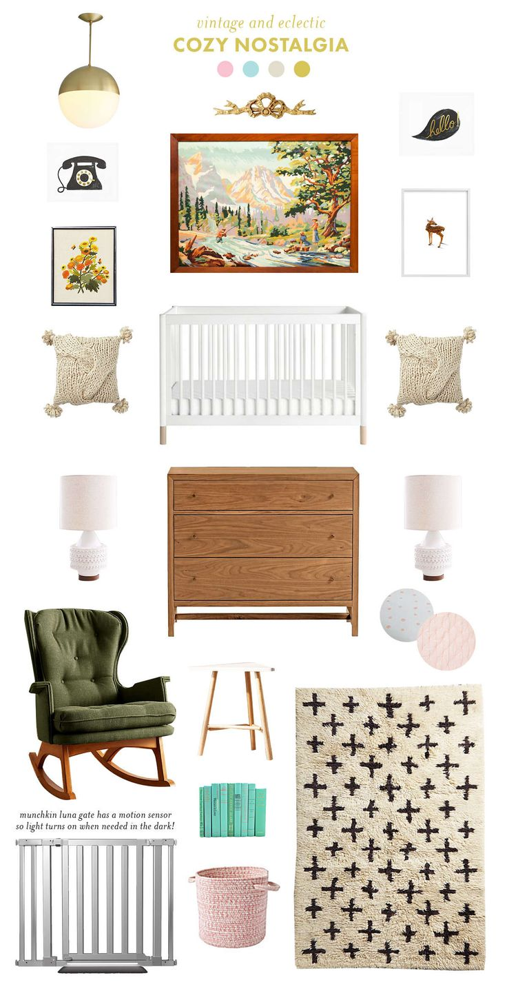 Nostalgic Nursery Inspiration With Munchkin