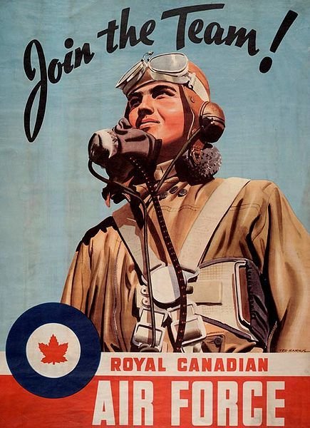 Reminds my of Canadian Military History Class in Undergrad. Royal Canadian Air Force