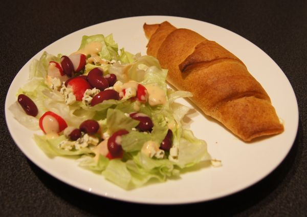 Chicken and Bacon Ranch Crescents