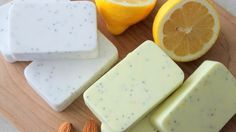 12 outstanding homemade soap recipes and ideas using olive oil,lemon,fruits, fragrance,mint....