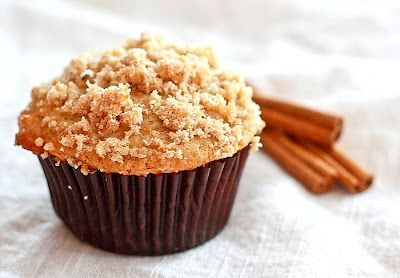 Cinnamon Streusel Muffins -gonna try these and replace the greek yogurt with regular yogurt or applesauce.