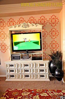 tv hutch refurbish